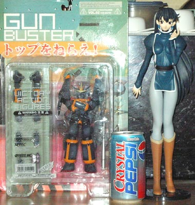 Gunbuster, Crystal Pepsi, and Raquel
