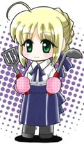 Saber with Spatula and Ladle